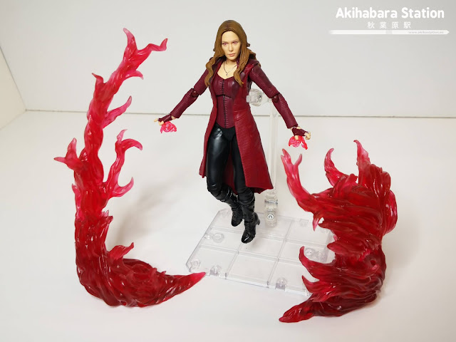S.H.Figuarts Scarlet Witch + Efecto Energía Rojo de Avengers: Endgame - Tamashii Nations