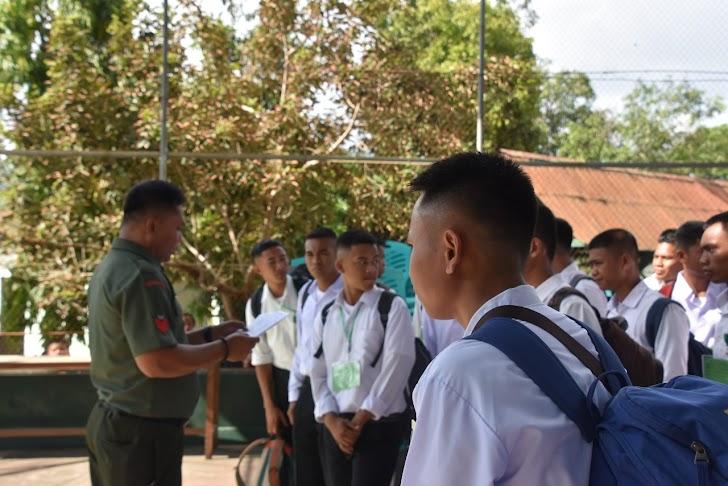 Korem 141/Tp Cetak 46 Orang Calon Tamtama PK TNIAD Gel II, TA, 2019