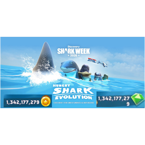Hungry Shark Revolution Hack mod Apk with Unlimited coins and Gems is Available to download