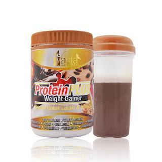 Fungsi Protein plus weight gainer : Menambah berat badan Membekalkan tenaga Menambah selera makan
