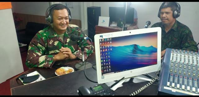 LPP RRl Meulaboh Kupas Religi Jum'at Bersama Dandim 0105/Aceh Barat Bahas Kerukunan Umat