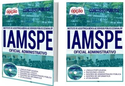 Apostila Iamspe SP 2017 Oficial Administrativo