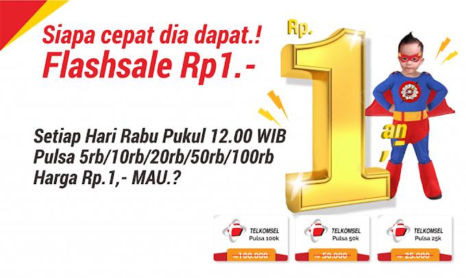 Program Flash-Sale Rp.1,-
