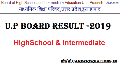 UP Board Class 10 Result 2019 , UP BOARD RESULT CLASS 10TH 2019