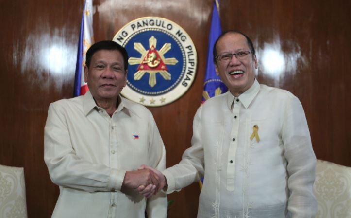 President Rodrigo Duterte mourns the passing of former President Benigno S. Aquino III