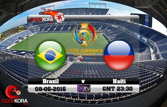مشاهدة مباراة البرازيل وهايتي اليوم 9-6-2016 كوبا أمريكا