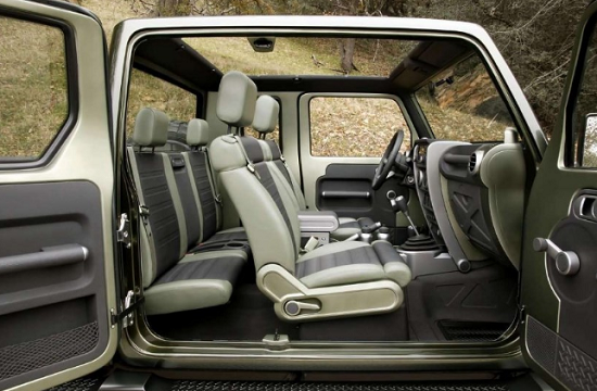 Jeep Gladiator 2019 Interior