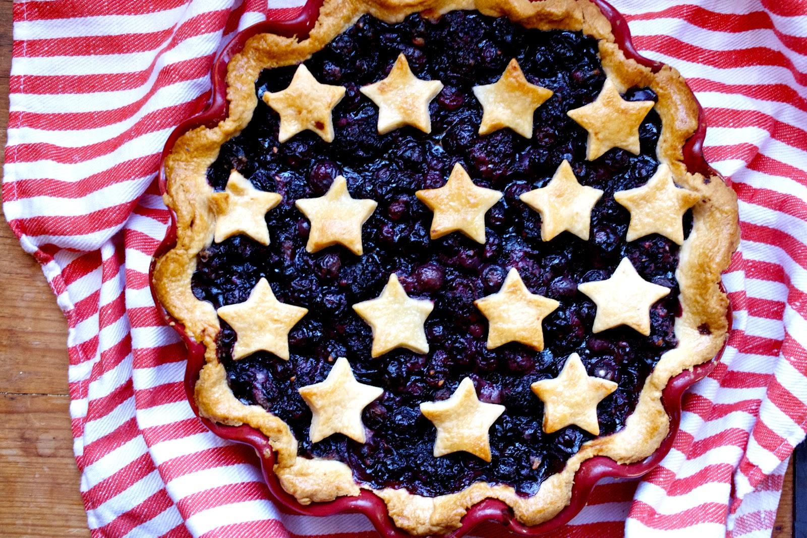 CosmoCookie Blueberry Pie