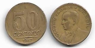 50 centavos, 1947