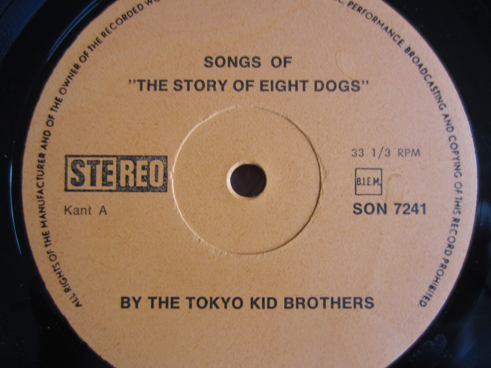 Archaic Inventions Tokyo Kid Brothers Songs Of The