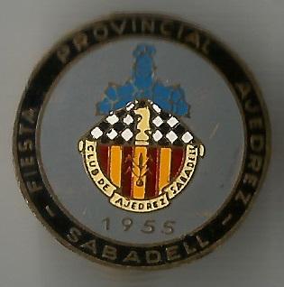 Insignia especial del Club Ajedrez Sabadell