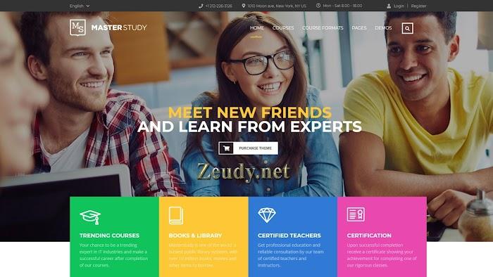 Masterstudy v4.2.6 – Education WordPress Theme Nulled