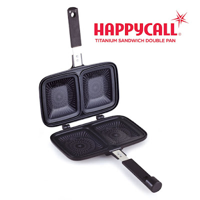 Happycall Titanium Sandwich Double Pan