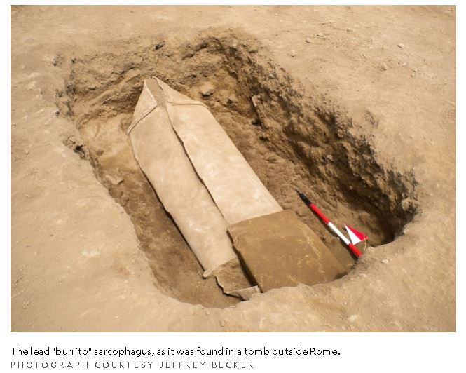 Mystery of The Ancient Lead Coffin in Gabii