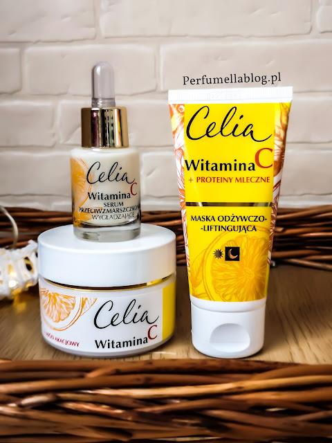 kosmetyki celia pielęgnacja twarzy witamina c