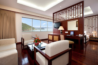 phòng deluxe vinpearl nha trang