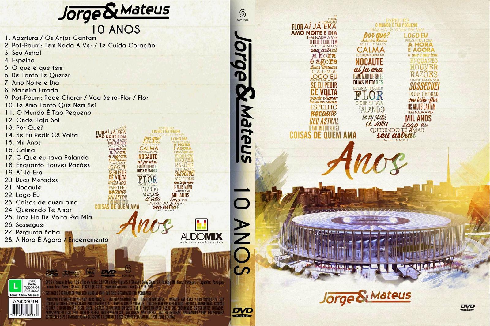 Download Jorge & Mateus 10 Anos Ao Vivo em Brasília DVD-R Jorge 2B 2526 2BMateus 2B  2B10 2BAnos 2BAo 2BVivo 2BXANDAODOWNLOAD