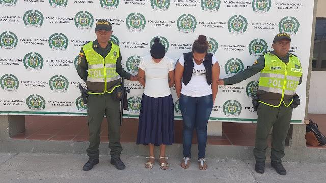 Dos venezolana arremetieron contra un local comercial en Maicao