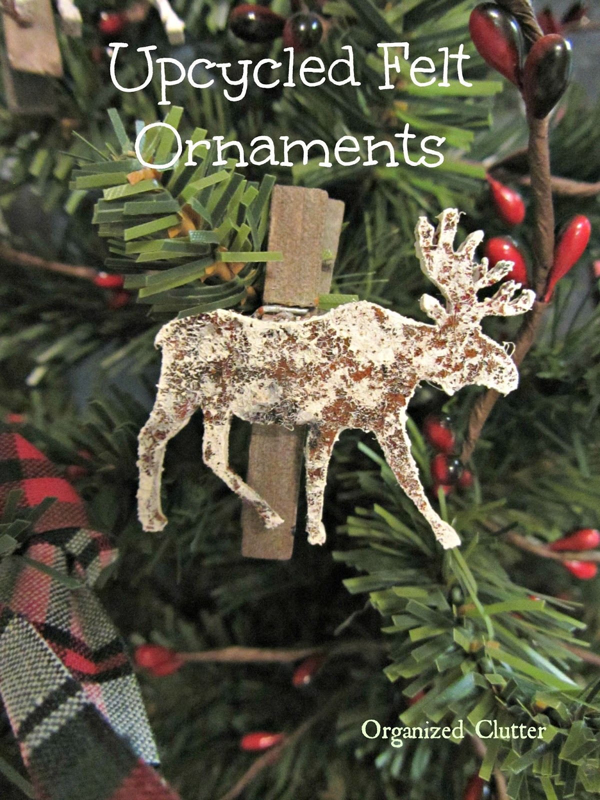 Upcycled Big Box Store Ornaments www.organizedclutterqueen.blogspot.com