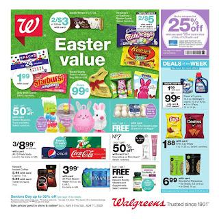 ⭐ Walgreens Ad 4/5/20 ⭐ Walgreens Weekly Ad April 5 2020