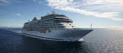 Luxury Cruise Ship - Seven Seas Splendor Delivered By Italy's Fincantieri Shipyard to Regent Seven Seas
