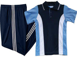 Baju Olahraga Lengan Pendek