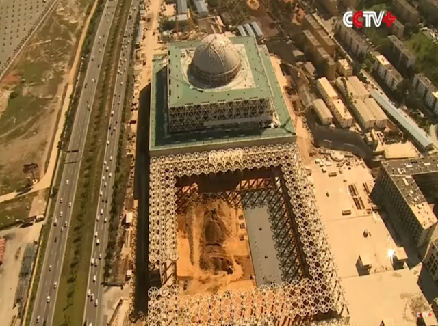 China Siapkan Masjid Ke-3 Terbesar Di Dunia Yang Akan Bertahan Selama Seribu Tahun