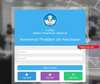 https://persuratan.kemdikbud.go.id/ Alamat Aplikasi Perkantoran Elektronik
