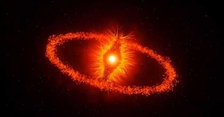 Fomalhaut nam-ı diğer Sauron'un Gözü en parlak sekizinci yıldızdır.