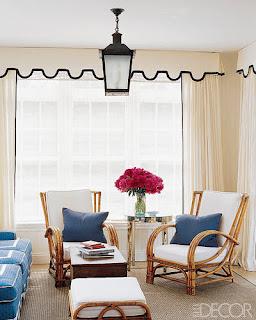 tende in soggiorno immagine