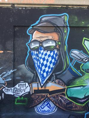 Graffiti Thalkirchen Räuber