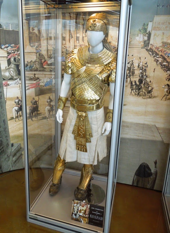 Ramesses golden armour Exodus Gods and Kings