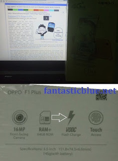 Oppo F1 Plus VOOC Flash Charging