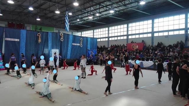 Εξαιρετικό διήμερο αισθητικής ρυθμικής ομαδικής γυμναστικής στο Άργος