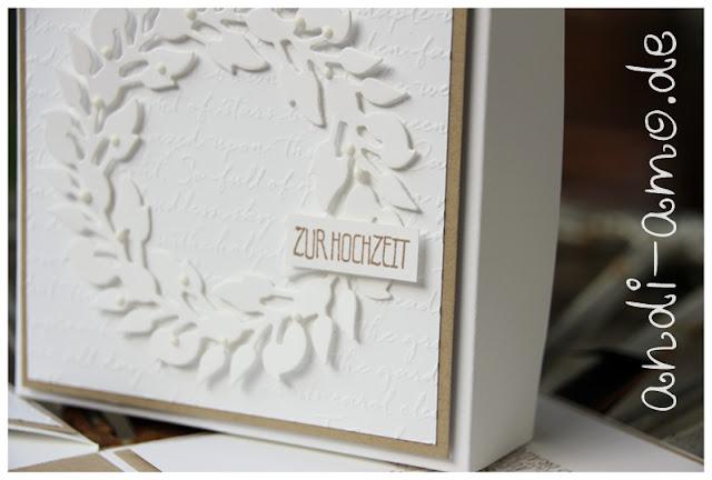 Stampin Up Stanzform Grüner Kranz zur Hochzeit