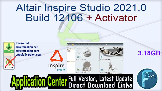 Altair Inspire Studio 2021.0 Build 12106 + Activator
