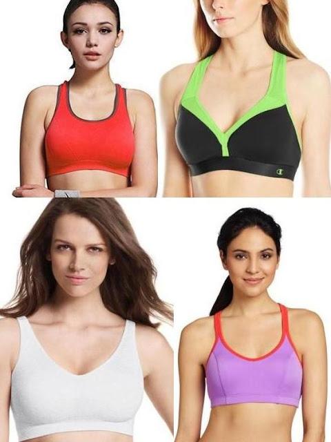 Cheap padded sports bra