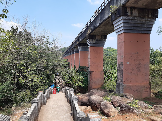 View of Mathur Aquaduct from the bottom