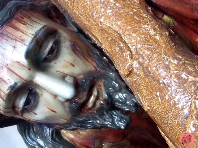 Cristo en templo de Jesús de Nazareno