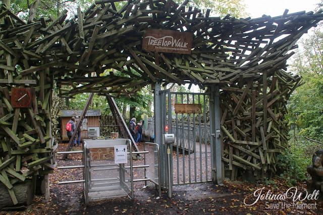 Eingang TreeTopWalk Edersee