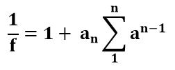 Ecuación reducida de Método Baker