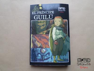 Páginas interiores e ilustraciones de El príncipe Guilú (Selento Books, 2020)