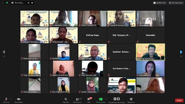 Suksesnya Training Jurnalistik Kafapet Unsoed (Tati Susnawati – BIB Lembang)