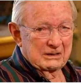 The reaction of the 93-year-old man to the Corona virus