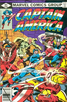 Captain America #242, the Avengers