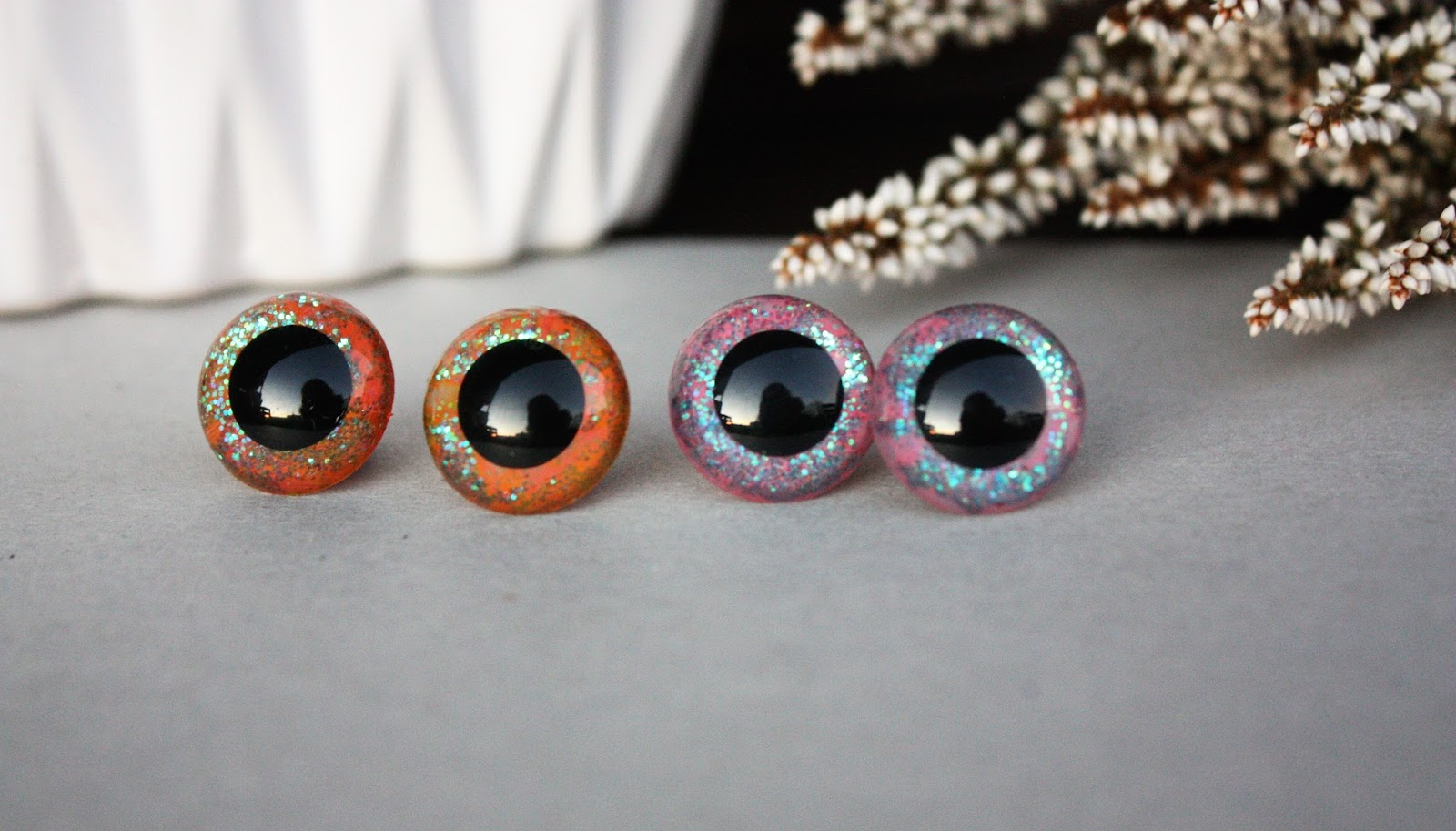 Eyes For Amigurumi : Happyamigurumi: hand painted safety eyes 12mm and 18mm eyes for
