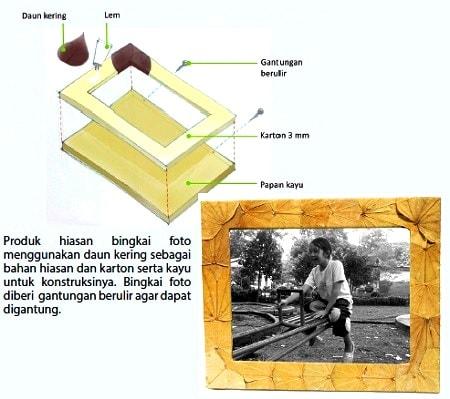Contoh Bahan Baku Kerajinan Hiasan dari Bahan Limbah