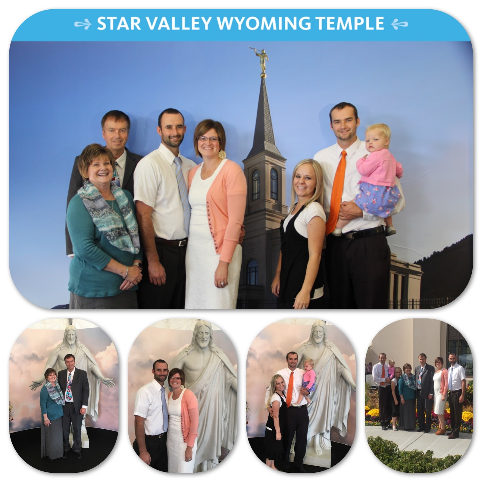 Blake Purcell Family: Star Valley Temple