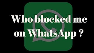 who has blocked me