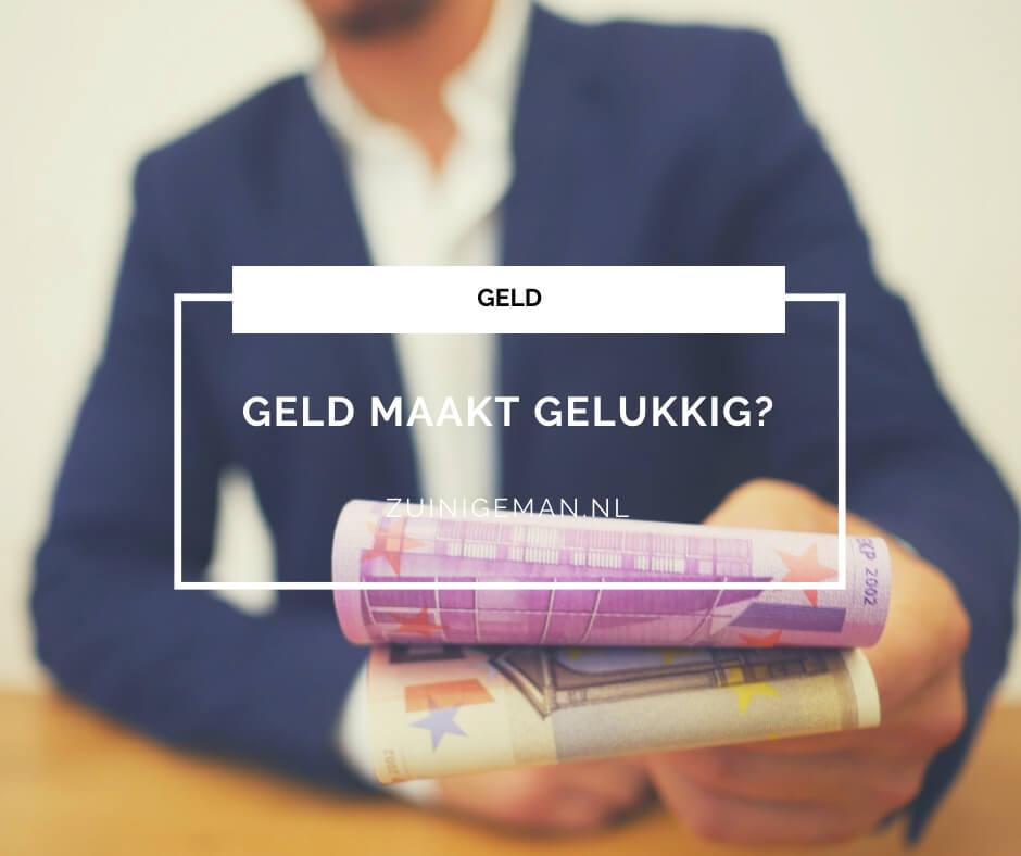 Geld maakt gelukkig